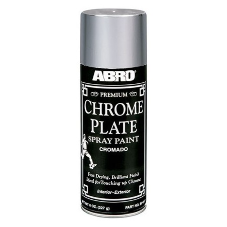 Abro Premium Chrome Plate Spray Paint