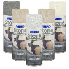 Abro Stone Premium Textured Spray Paint