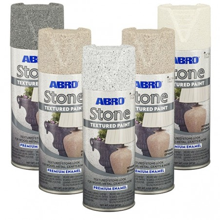 Abro Stone Premium Textured Spray Paint