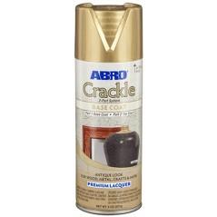 Abro Decorative Spray Paint (Crackle Premium Lacquer Spray Paint) BASE COAT Part 1