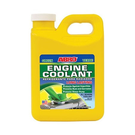 Abro Engine Coolant Green