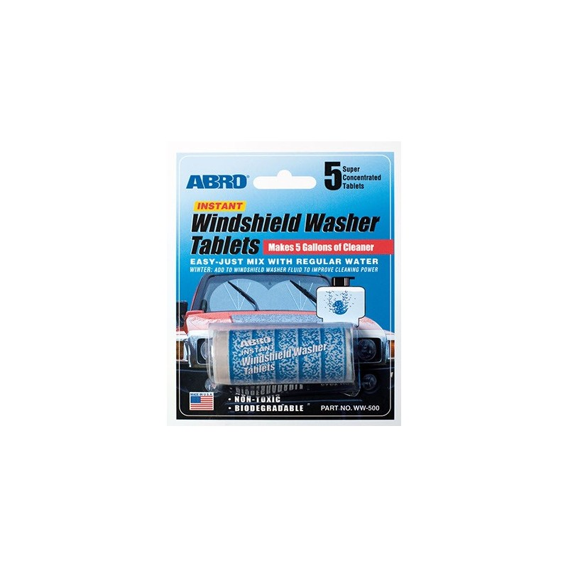 Abro Windshield Washer Tablets