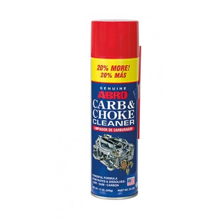 Abro Carb & Choke Cleaner 20% More