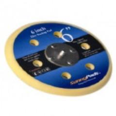 SANDMAX 6 Inch X 6 Holes Backup Pads Vinyl For Pnematic Sander JMD-SM-1486I6HPSABP