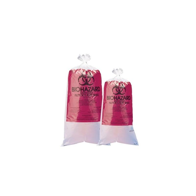 Biohazard Disposal Bags with Warning Label