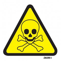 Buy your Danger Toxic Hazard Signs online with Safety Nigeria | Warn visitors and employees of potential toxic hazards in and ar