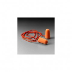 3M Corded Foam Earplugs, 1110 500/Case