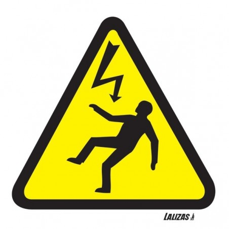 Risk Of Electric Shock signs