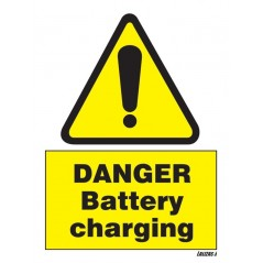 Danger - Battery Charging Signs