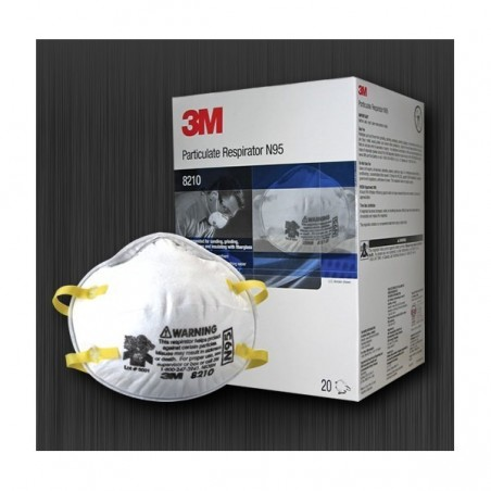 3M Particulate Respirator 8210, N95 20pcs/packet