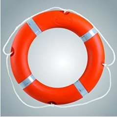 Lalizas Lifebuoy Ring Solas Approved with Reflective Tape
