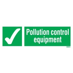 Pollution Control Equipment Signs