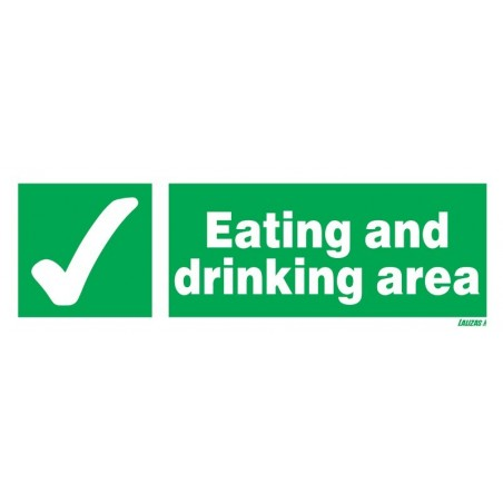 Eating & Drinking Area Signs