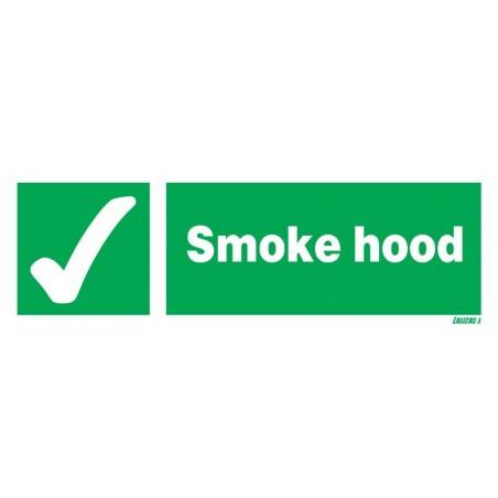 Smoke Hood Signs
