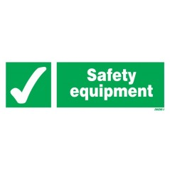 Safety Equipment Signs