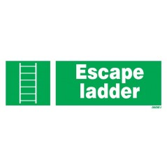 Order for your Escape Ladder Signs | Looking for where to buy Escape Ladder Signs? order now  | distributors Escape Ladder Signs