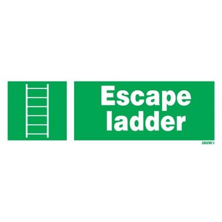 Escape Ladder Escape Ladder Signs