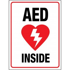 AED Signs and AED Stickers