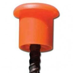 Rebar Safety End Identification Protection Caps Bar Mushroom Site