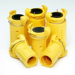 Buy Blast Hose Coupling, Quick Couplings for fast safe coupling of hoses - Blasting Shop, Order from supplier of Blast Hose Coup