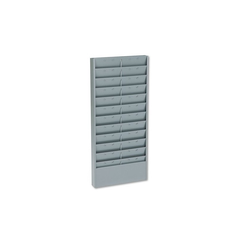 Time Card Rack Plastic Wall Mounted Cards Holder