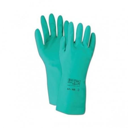 NITRILE GREEN CHEMICAL RESISTANT GLOVES