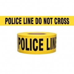 "Police Line Do Not Cross Caution Tape - 3"" X 500m"