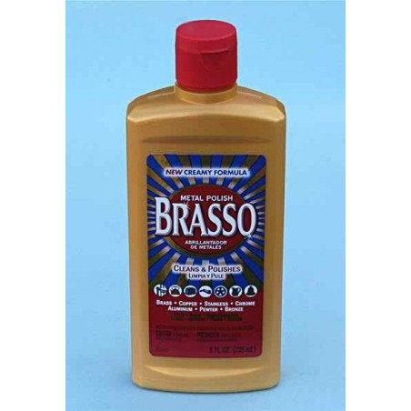 Brasso MultiPurpose Metal Polish 8 OZ