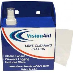 VisionAid 1LC382D Disposable Lens Cleaning Station
