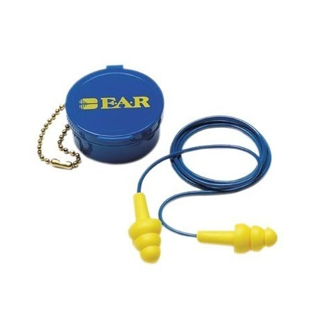 E - A - R UltraFit Corded Ear Plug with Carrying Case