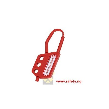 Non-Conductive Nylon Hasp - 3 Holes, 6mm Shackle, 45mm Thickness