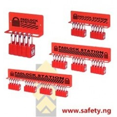 Padlock Holders for Safety Lockout