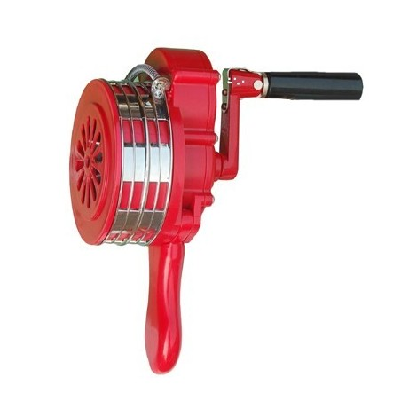LK100, LK100P Hand Operated Sirens - Industrial Signalling, Sirens; 108dB sound output,frequency - 550Hz nominal, IP66 protectio