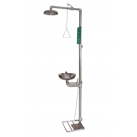 Centurion combination eyewash shower station s-s150