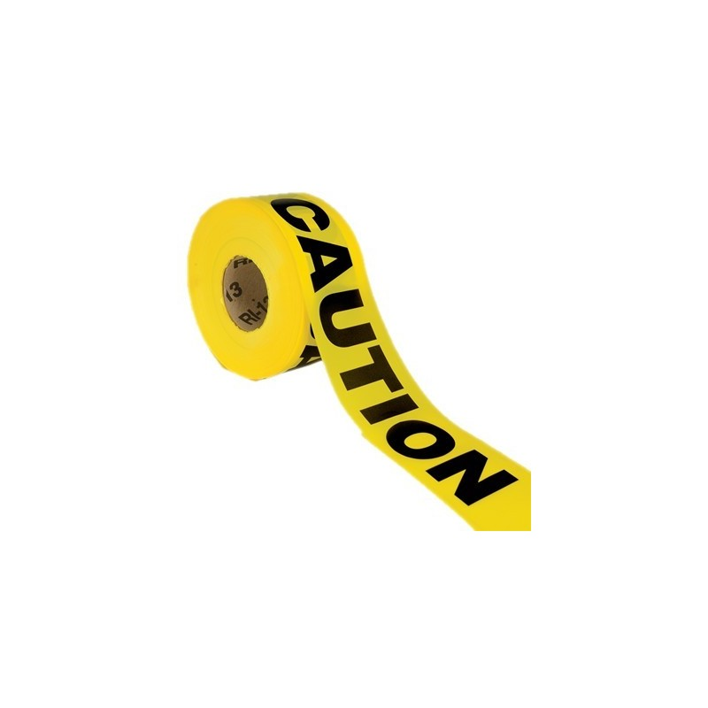 """looking for where to order 3 Mil Yellow Barrier Caution Tape, 3"""" x 1,000mtr industrial tape? Buy barrier tape from industrial ty"""
