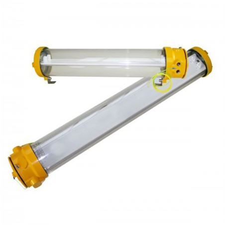 Centurion Explosion Proof LED Fluorescent Ceiling Light