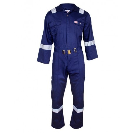 BETA COVERALL WITH REFLECTIVE BLUE