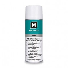 Molykote 1122 Chain and Open Gear Grease Black 312 g Aerosol