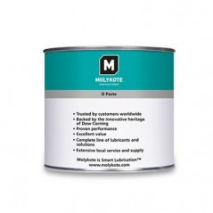 Molykote D Paste White 454g Can