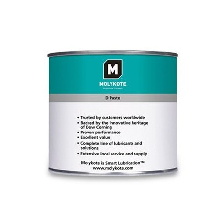 Molykote D Paste White 454g Can