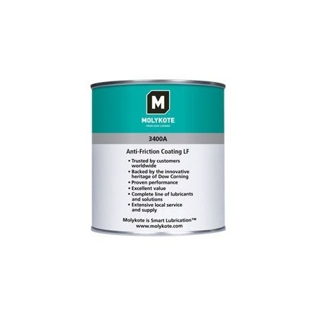 Molykote 3400A Anti-Friction Coating Charcoal 1 kg Can