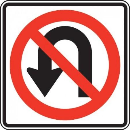 No U-Turn symbol