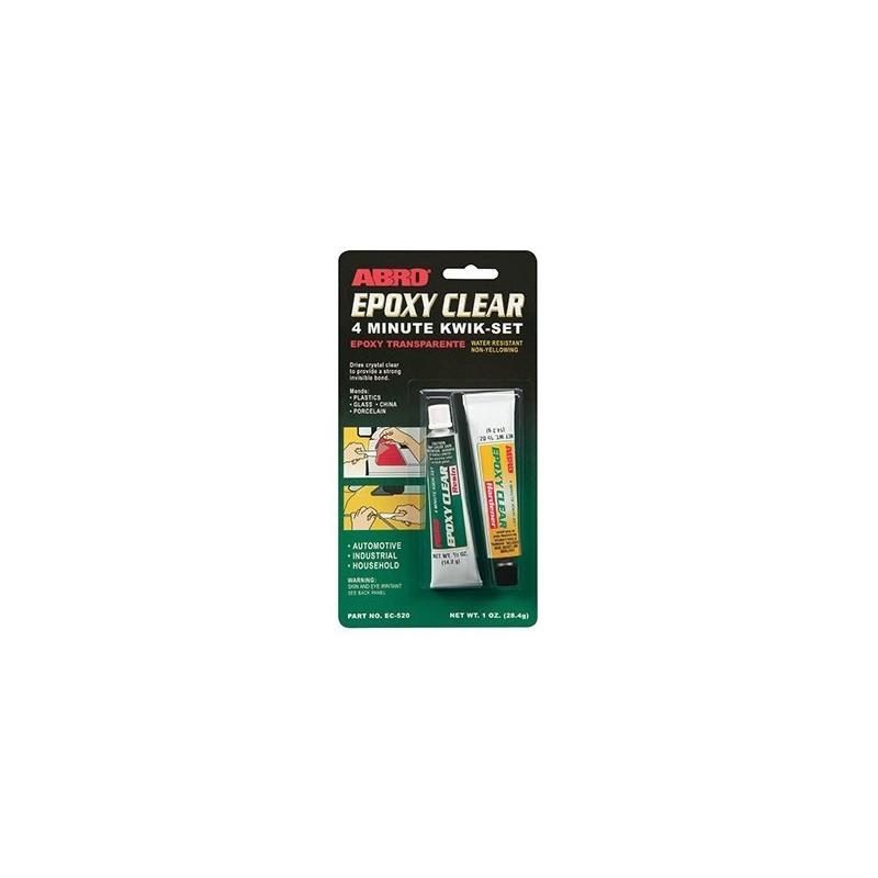 Abro Epoxy Clear 4 Minute Kwik-Set Automotive Grade