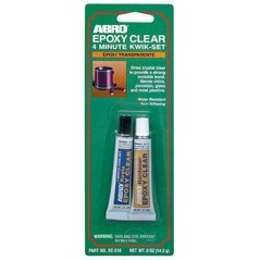 Abro Epoxy Clear 4 Minute Kwik-Set