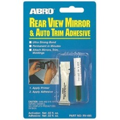 Abro Rear View Mirror Adhesive