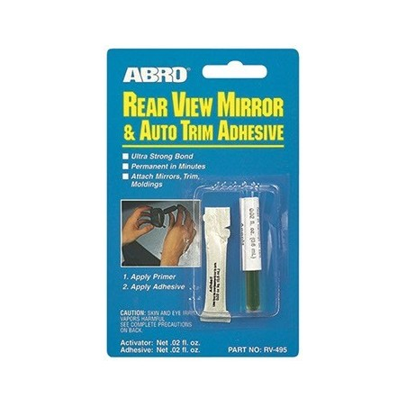 Abro Rear View Mirror Adhesive