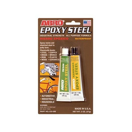 Abro Epoxy Steel Industrial Strength