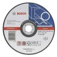 BOSCH STRAIGHT CUTTING DISC, AS 30 S BF INOX