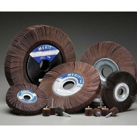 COATED ABRASIVE FLAP WHEEL 41/2""