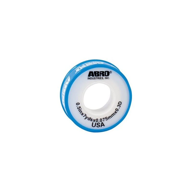Abro PTFE Thread Seal Tape Light Blue for Water Pipes